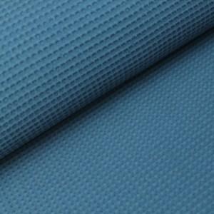 Wafel-Donker Jeans Blauw