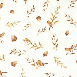Katoen - Snoozy Vogeltjes