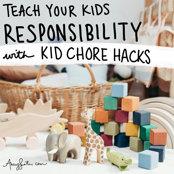 Teach Your Kids Responsibility and Make Cleaning Fun with These Chore Ideas