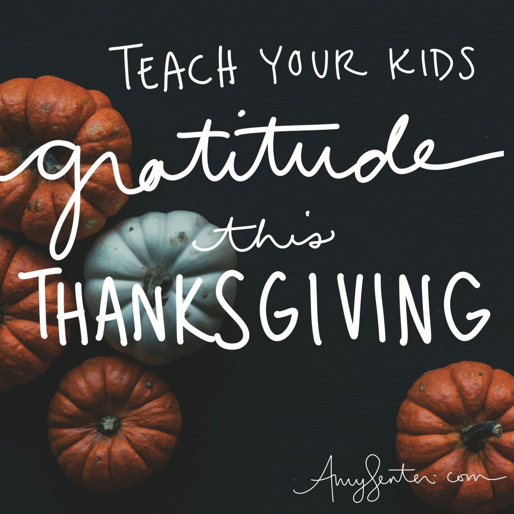 Teaching Your Kids Gratitude Using a Thanksgiving Tree Tradition