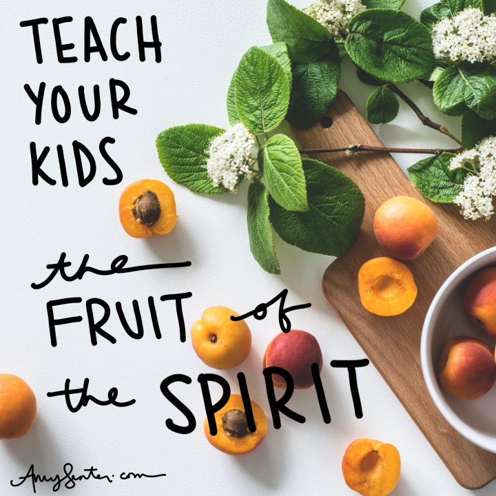 Teach Your Kids the Fruit of the Spirit with this Summer Study