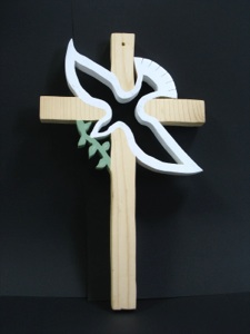 How To Decorate Plain Wooden Crosses