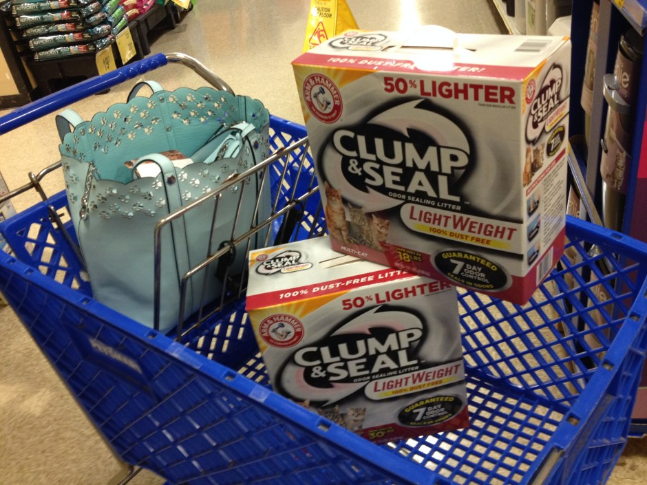 Petsmart and Arm And Hammer Clump & Seal