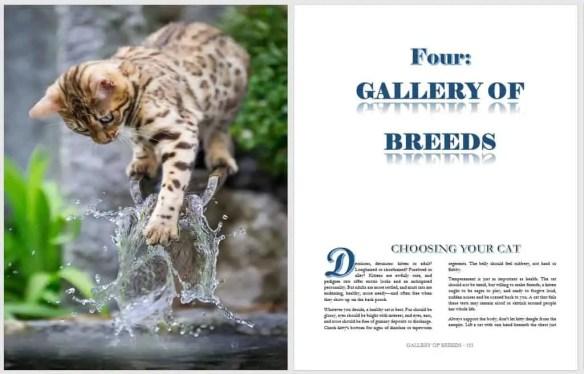 cat breed book