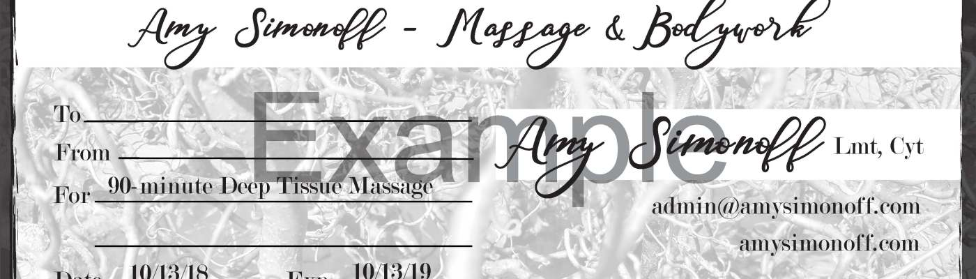 erie pa massage gift certificates online