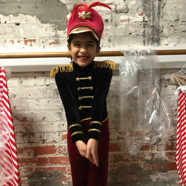 Dress rehearsal for the nutcracker  nutcracker dancemom mommyhood momofdaughtershellip