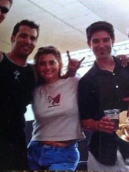 Me and the band, circa 2002