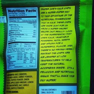Kale Chips Back