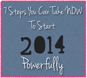 7 steps to start new year