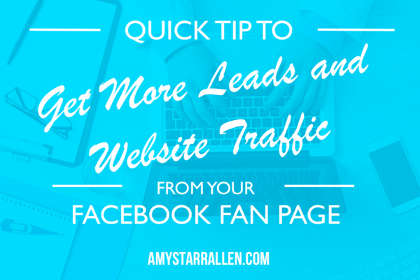 leads from facebook fan page
