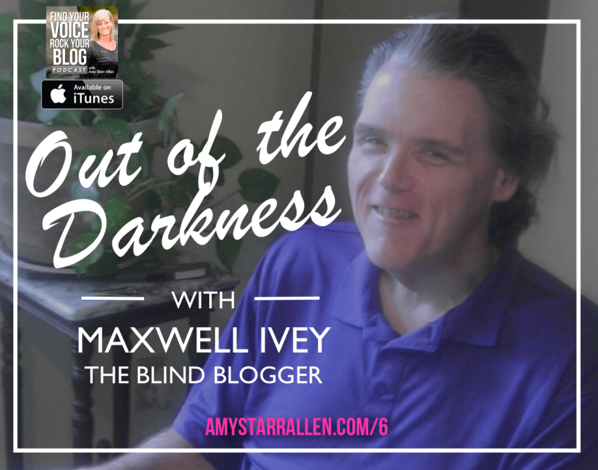 maxwell ivey the blind blogger