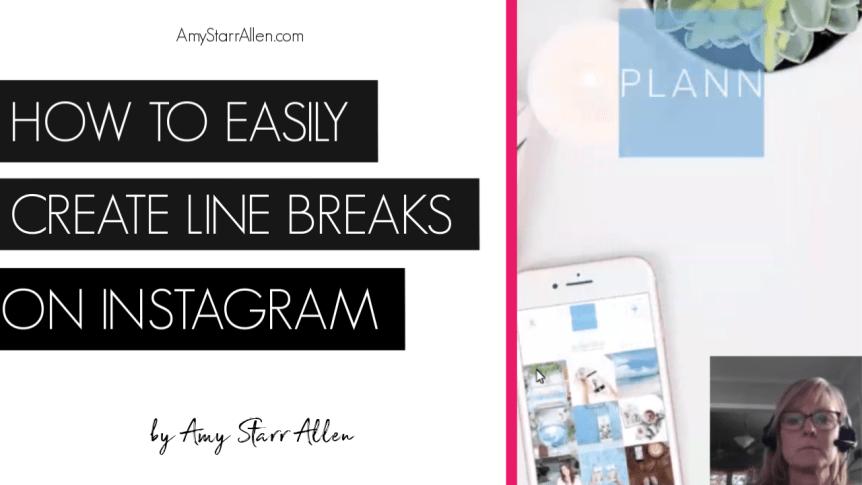 How To Easily Create Line Breaks On Instagram