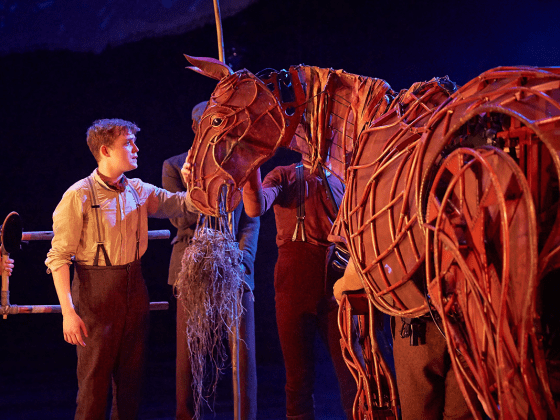 Warhorse national theatre Michael Morpurgo