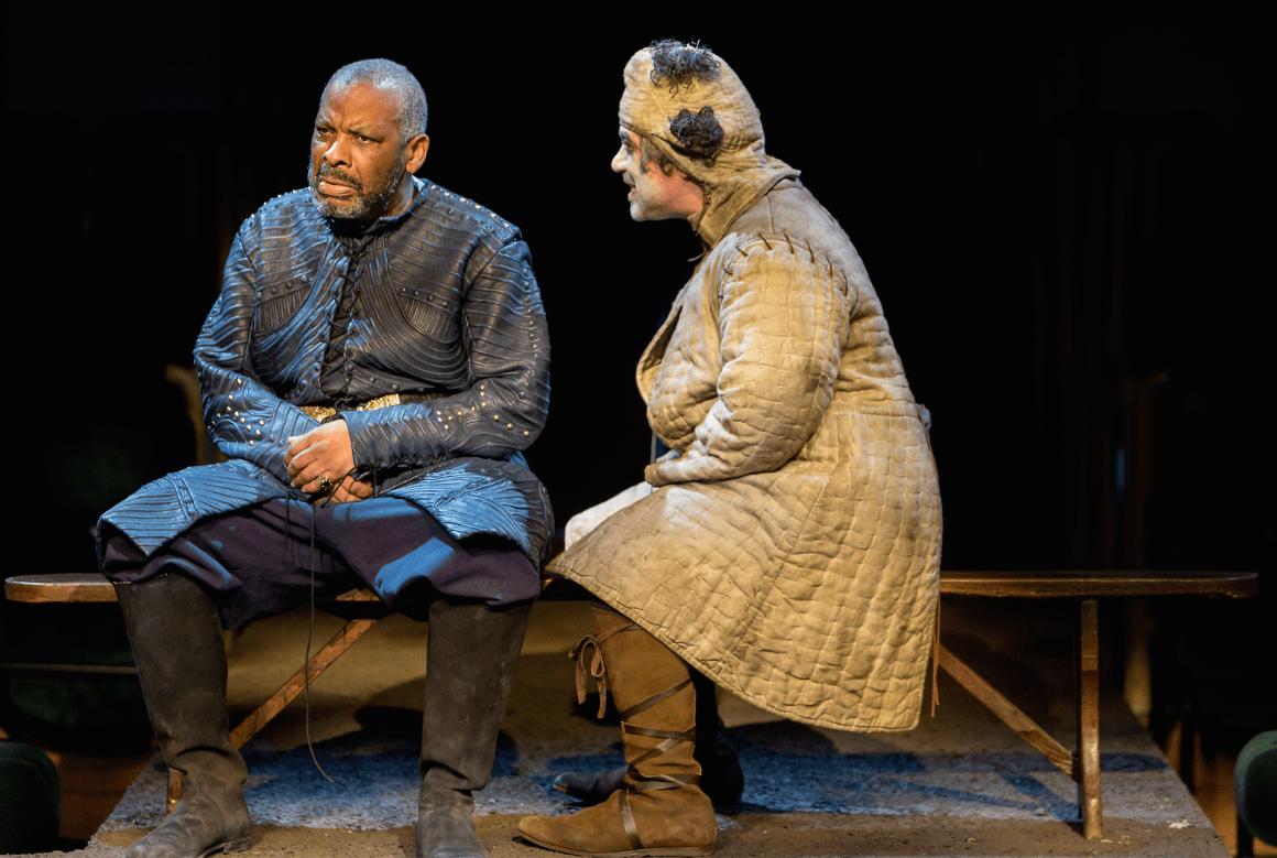 Don Warrington (King Lear) & Miltos Yerloemou (The Fool) Photo Jonathan Keenan.jpg