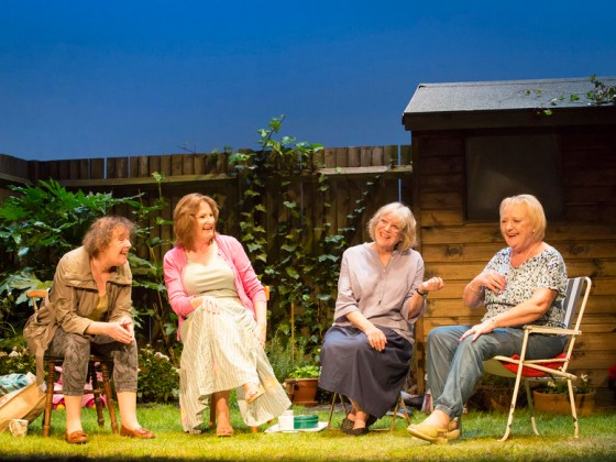 Linda Bassett in Escaped Alone UK Tour Lowry
