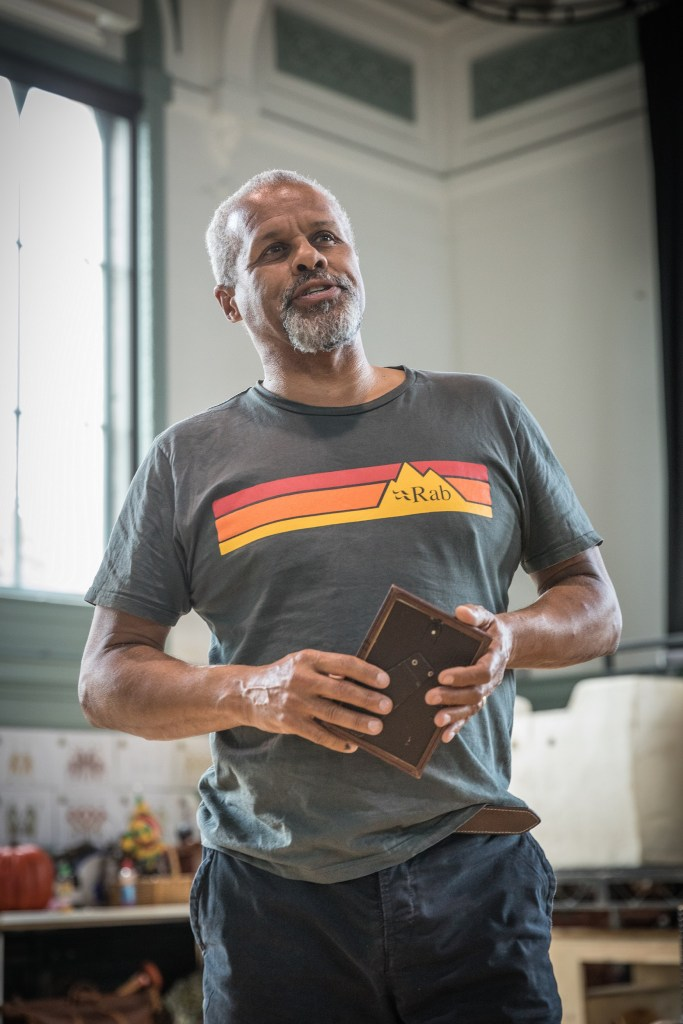 Gary Wilmot in rehearsals for The Wind in the Willows Credit Marc Brenner