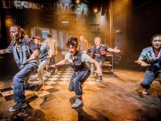 Working the Musical at the Southwark Playhouse review