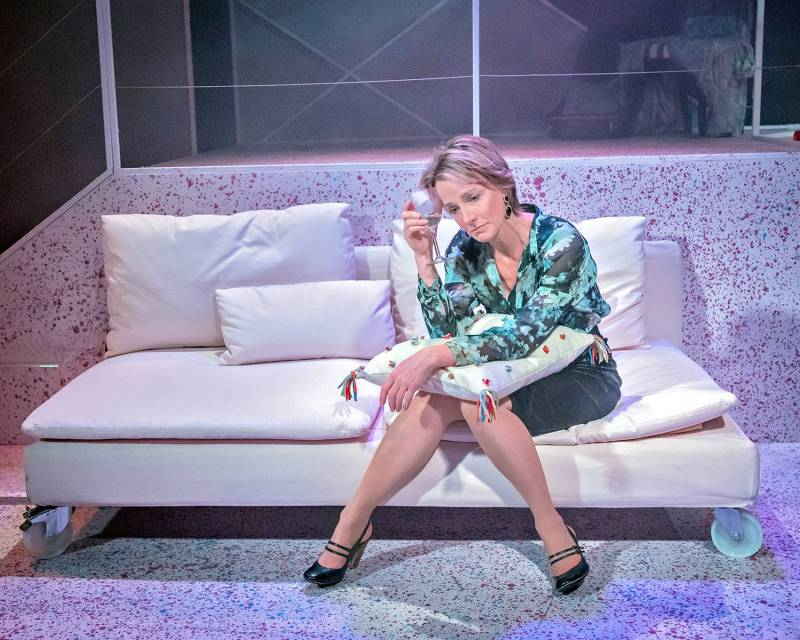 Johanne Murdock in The ToyBoy Diaries at Hope Mill Theatre.