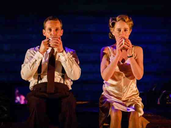 Jim Sturgeon (Alec) and Isabel Pollen (Laura) Sincerely Amy Stutz Review