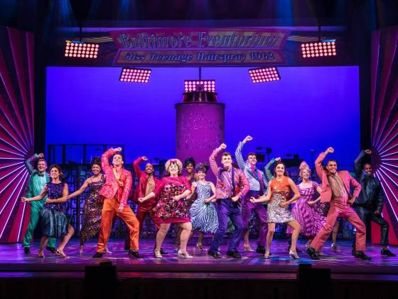 Hairspray UK Tour review Amy Stutz