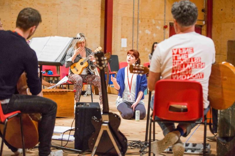 Day of the Living Rehearsal Images - RSC Mischief Festival