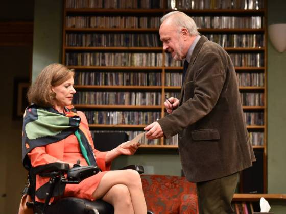 Duet for One Belinda Lang and Jonathan Coy Credit: Robert Day