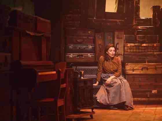 Rebecca Trehearn as Rebecca in RAGS. Credit Nathan Chandler (2)