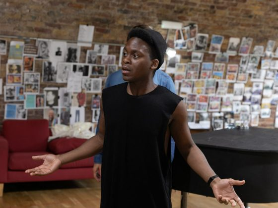 The View Upstairs at the Soho Theatre rehearsal images by Darren Bell