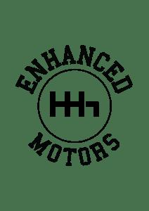 Enhanced Motors - Logo design - startup brandingArtboard 14