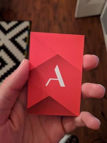 ACONCO business card design - branding by amyth and amit 2
