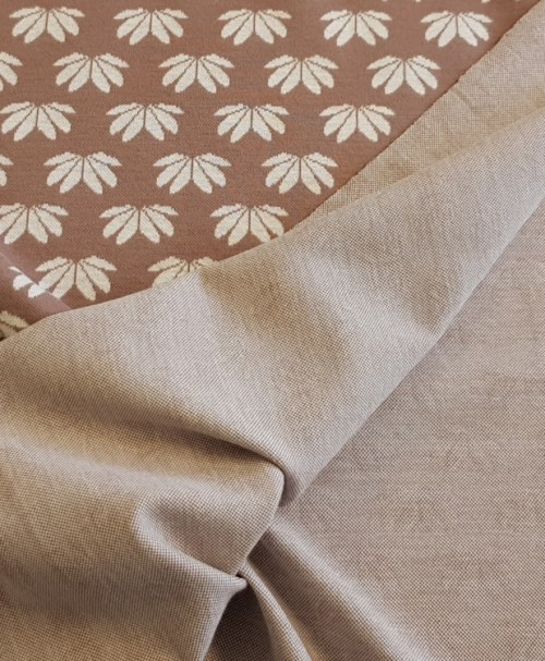 Jacquard Winter-Flower by Lila-Lotta taupe