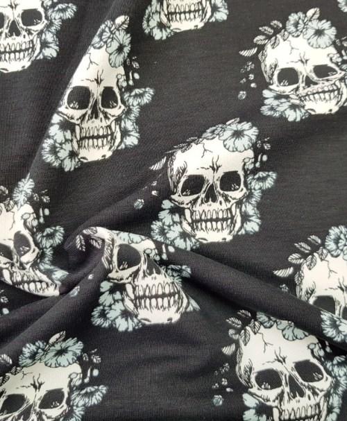 Sweat Skulls schwarz/mint
