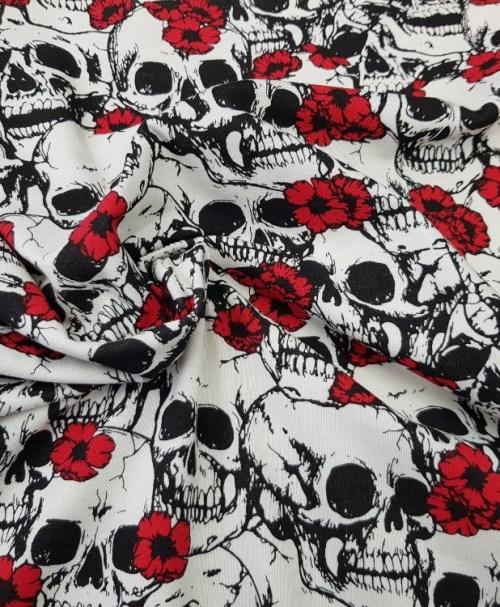 Jersey FlowerSkulls