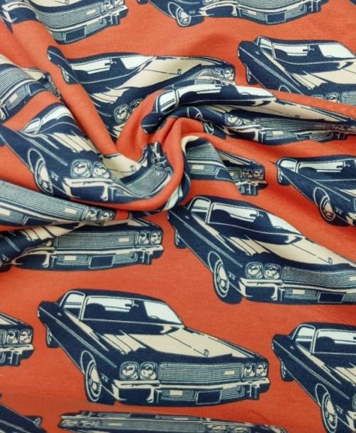 Sweat Retro big car orange