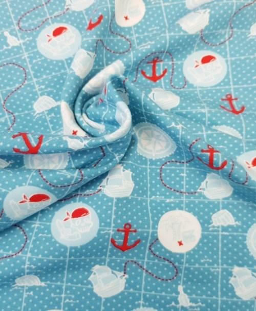 Jersey Schatzkarte Seefahrer