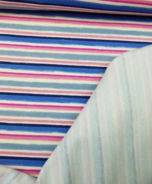 Sommersweat Stripe 1 pink