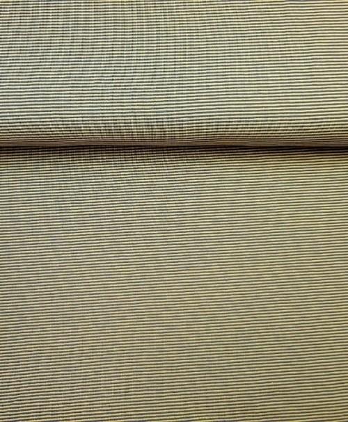 Jersey schmale Ringel gelb/grau