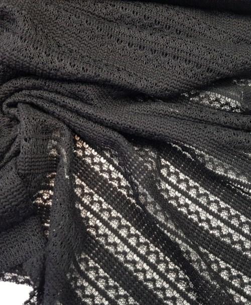 Sommerstrick Gebroken schwarz