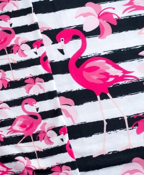 Jersey Luke Flamingos groß schwarz