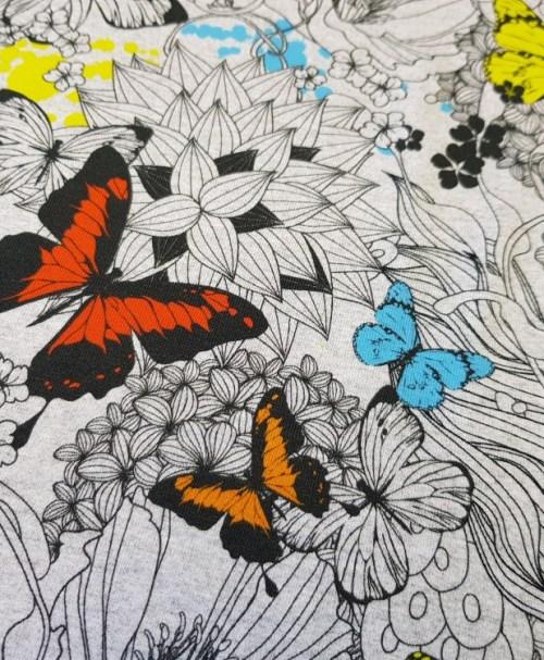 Fräulein von Julie Jersey Schmetterlinge