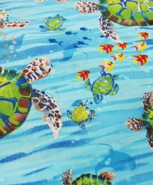 Baumwolle Webware Ocean State Turtle