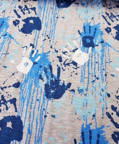 Jersey Hands blue