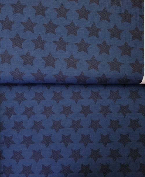 Jersey Stars & Stripes dunkelblau Bordüre