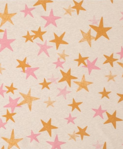 Lillestoff Jersey When It´s Dark Look For Stars senfpink, meliert