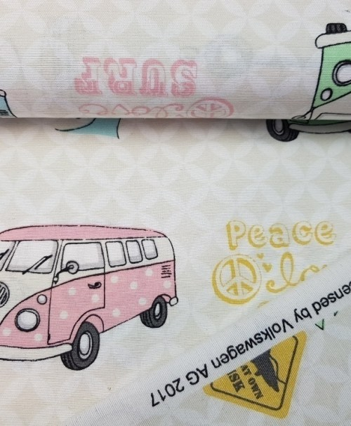 Canvas Deko Lizenz VW-Bus