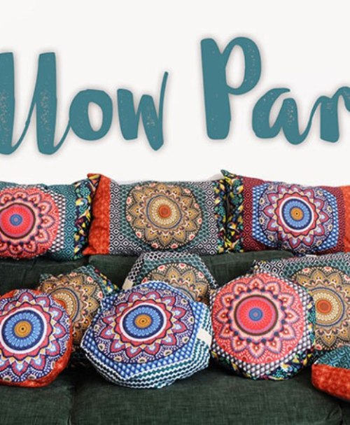 PILLOW PARTY by jolijou Canvas Panel gedeckt