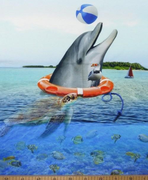 Jersey Panel Delfin by anneke