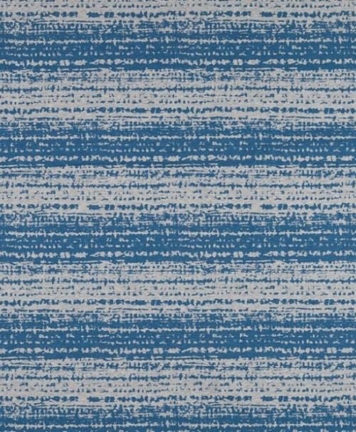 Lillestoff Jersey Blockstreifen, blau, brüchig, meliert