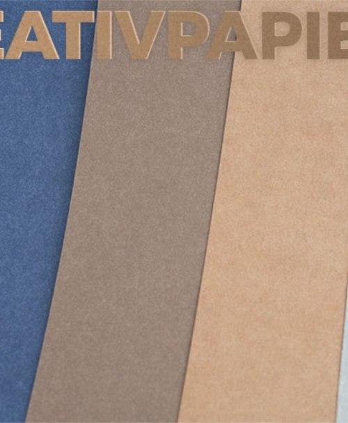 Kreativpapier braun