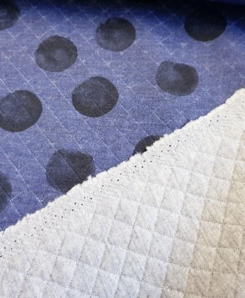 Steppsweat blue Dots
